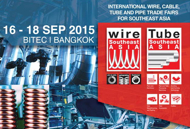 Maillefer on Booth G18 at wire Southeast Asia 2015