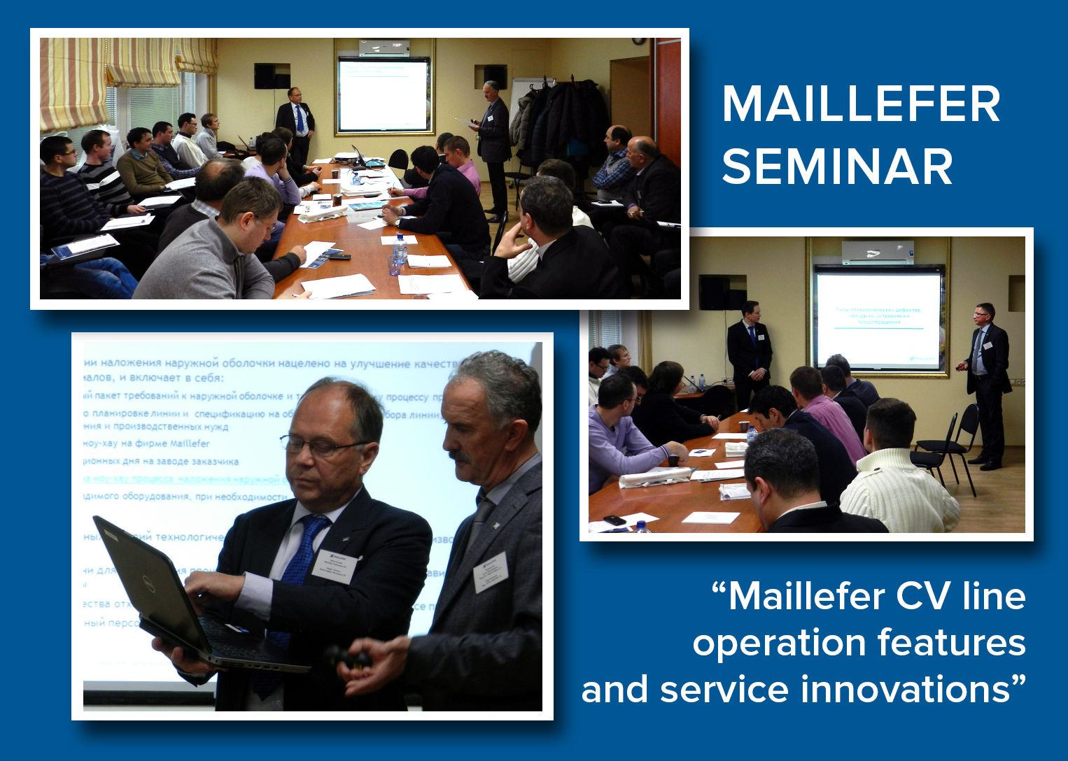Fruitful Maillefer Seminar in Moscow