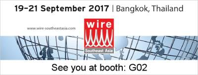 Visit us at wire Southeast Asia 2017